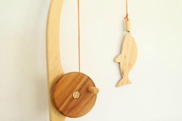 Needle and Nail | F - Wooden Fishing Set