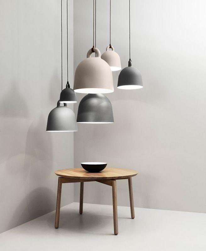 Bell Lamp Xsmall Grijs