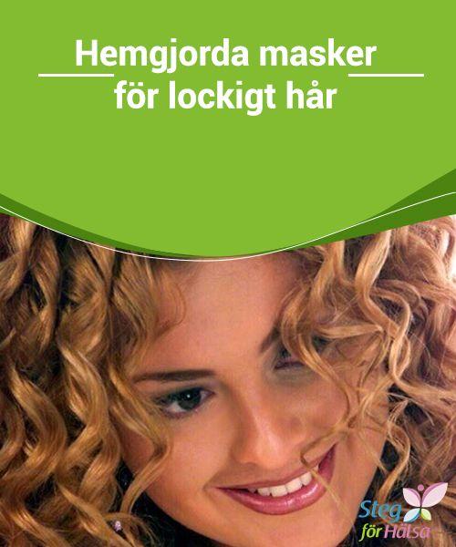 Hemgjorda masker för lockigt hår  Oavsett om du vill #ändra din frisyr till #vågigt eller lockigt hår #eller helt enkelt ge ett lyft till #lockarna du redan har är den här artikeln för dig.
