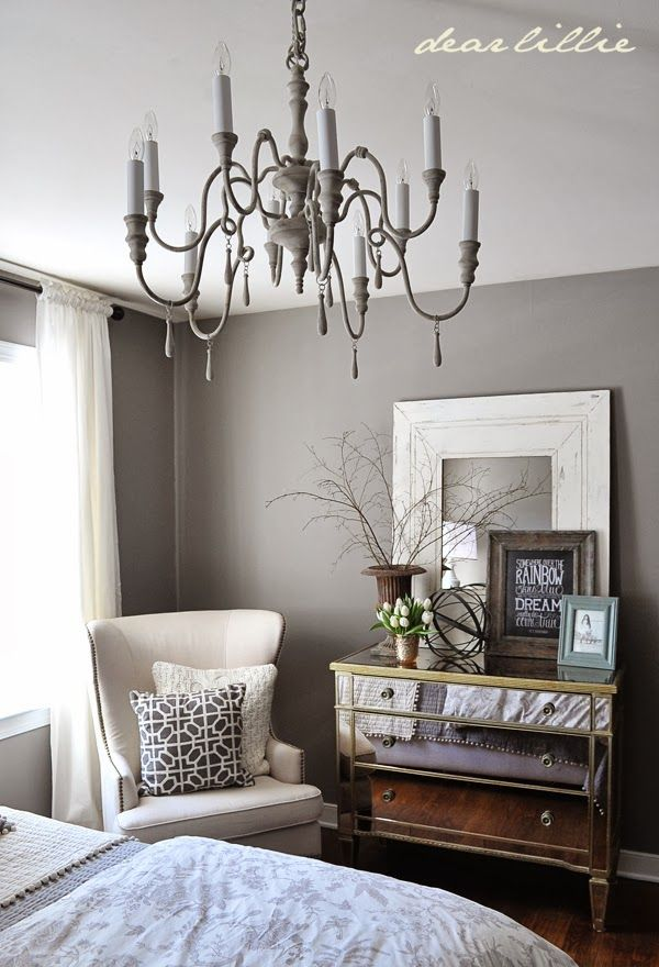 our gray guest bedroom and a full source list by dear. Black Bedroom Furniture Sets. Home Design Ideas