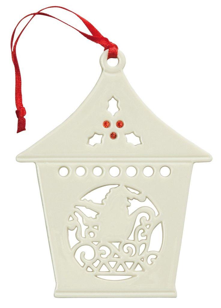 Belleek Santa Lantern <3