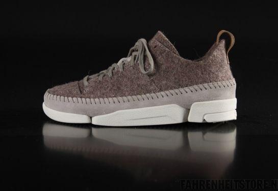 Clarks Originals - Clarks Trigenic Wool Grey Sneaker ...