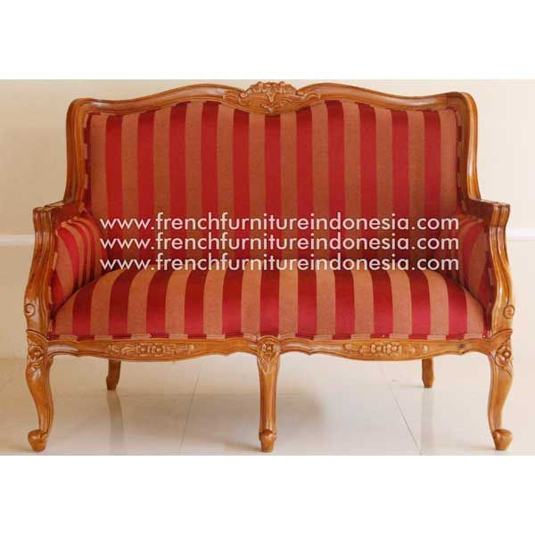 Order Sofa 6094 2 Seater without uph on armrest from French Furniture Indonesia. We are reporoduction 100% exporter furniture manufacturer with french style good quality. with French furniture style and high quality Finishing.We also provide Unique furniture style, White Furniture and Painted Furniture. #CustomFurniture #FurnitureOnline #NaturalFurniture #FurnitureWarehouse #WholesaleFurniture