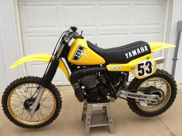 1982 yz 490 classic dirt bikes motorrad. Black Bedroom Furniture Sets. Home Design Ideas