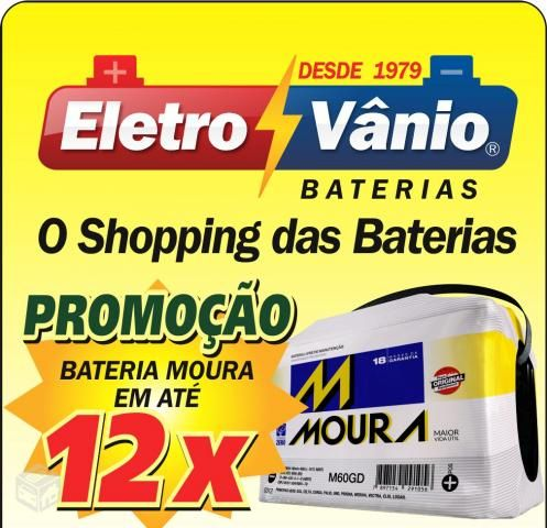 Eletro Vânio Baterias de Carro Moura Florianópolis