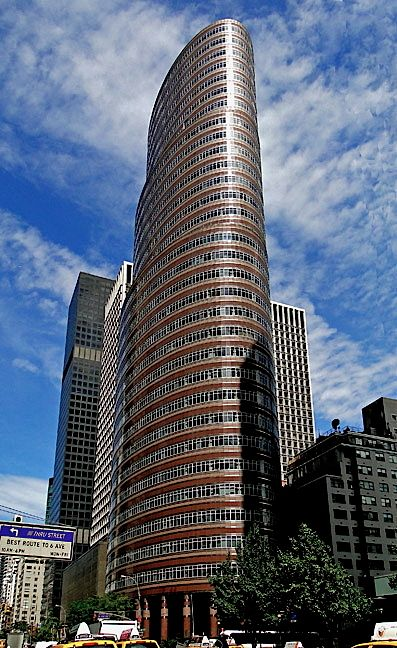 The Lipstick Building is, in my opinion, the most beautiful building in New York City. No picture does this building justice.