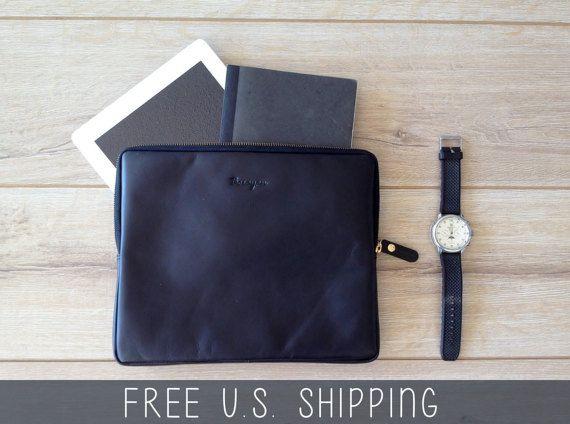Leather iPad case leather iPad sleeve leather door TheLeatherExpert