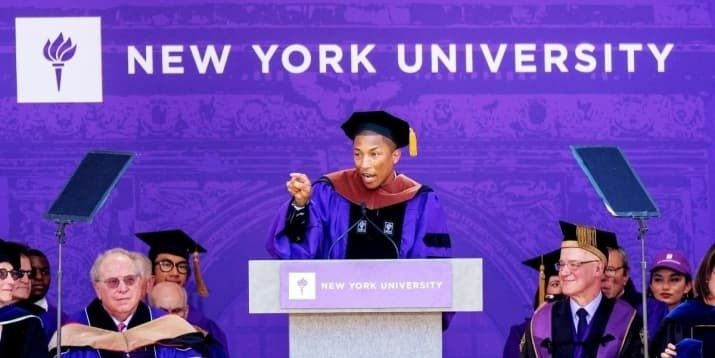 Words of wisdom to graduating college students by celebrities and political leaders that inspire us all and prove the future belongs to the female.