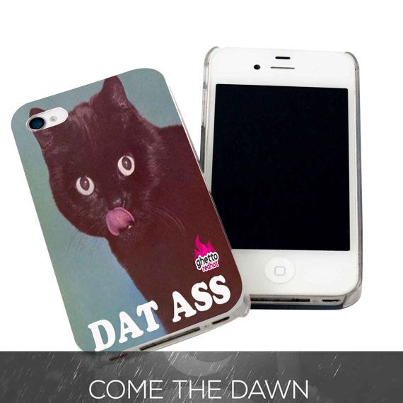 iPhone cases for iphone 5c : Ghetto Cat for iPhone 4, iPhone 4s, iPhone 5 /5s/5c, Samsung Galaxy S3 ...