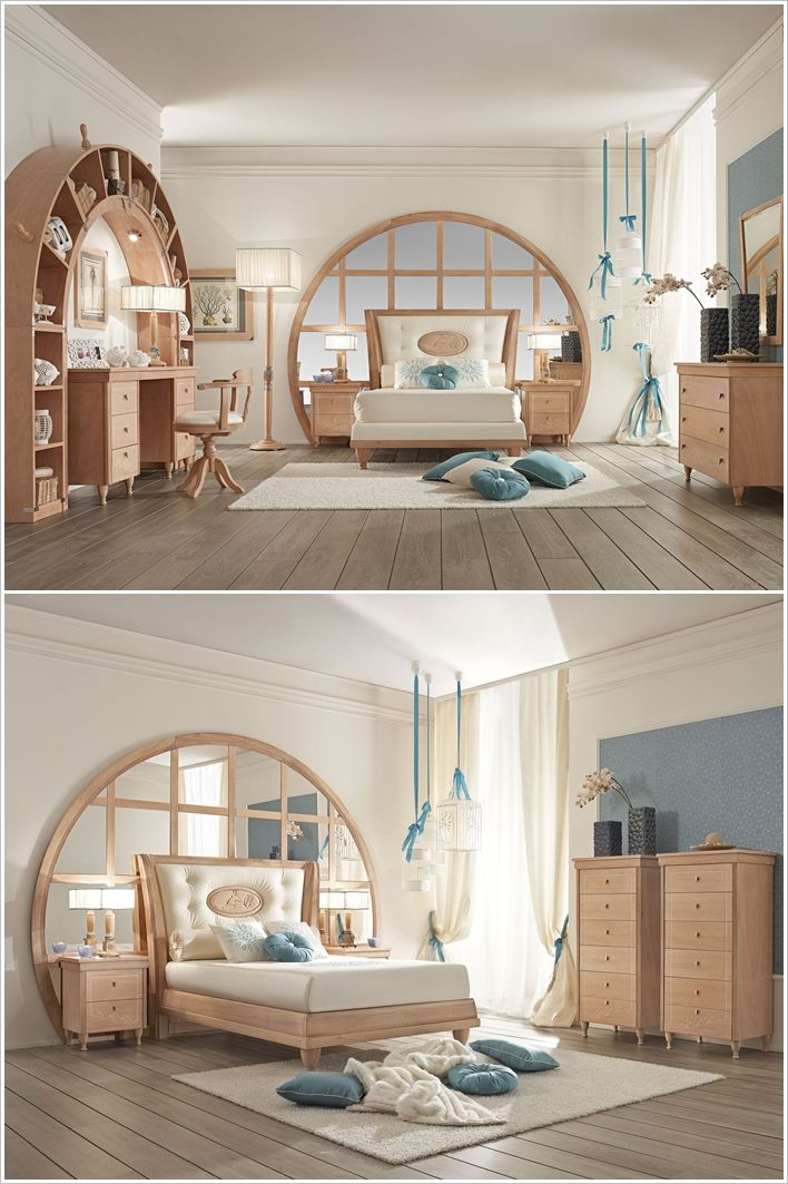 A Mirror Back Bed