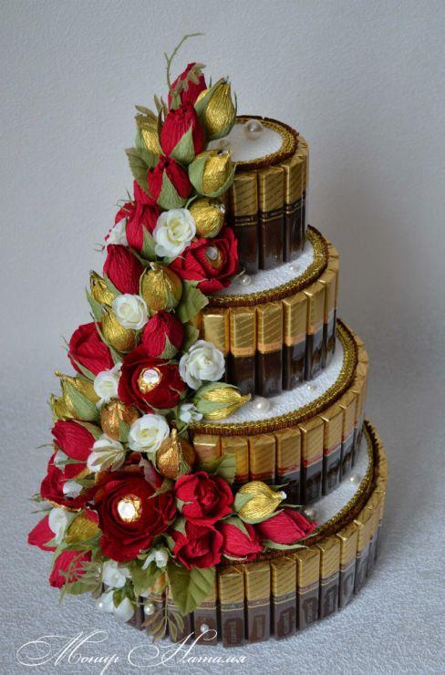 Gallery.ru / Фото #155 - Тортики из конфет - monier