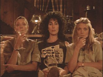 The Witches Of Eastwick, Adult's Night In | Awe I want to have a fun girls night like they did during the thunderstorm lol