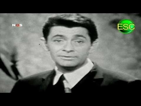 ESC 1961 Winner Reprise - Luxembourg - Jean-Claude Pascal - Nous Les Amo...