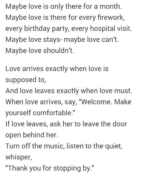 Sarah Kay & Phil Kaye - When Love Arrives