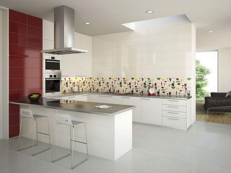 diseño de cocinas ceramicos  Buscar con Google  Cocina Cerámicos