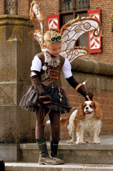 Steampunk --- another cutie!!! :) I love kid's steampunk stuff, hehe