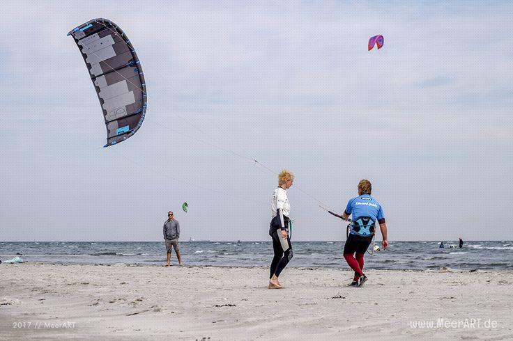 (M)ein Schnupperkurs im Kitesurfen // #Ostsee #Fehmarn #Wassersport #Kitesurfen #Kiten #Surfschule #Ostholstein #SchleswigHolstein #Ostseeküste #Sonneninsel  #MeerART / gepinnt von www.MeerART.de