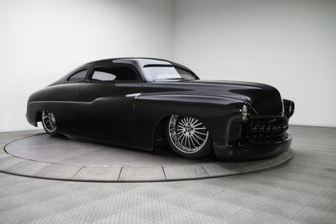 1950 Black Mercury Sedan 454 V8