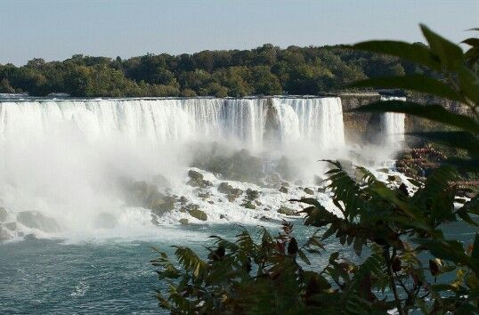 Niagra Falls, Ontario, Canada | Image from the Canada Side