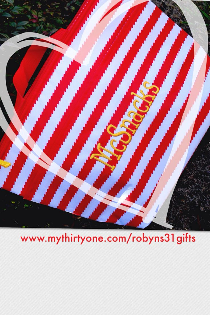 31 Gives Thermal Tote! Benefiting the Ronald McDonald House Shop now at: http://www.mythirtyone.com/robynlipe