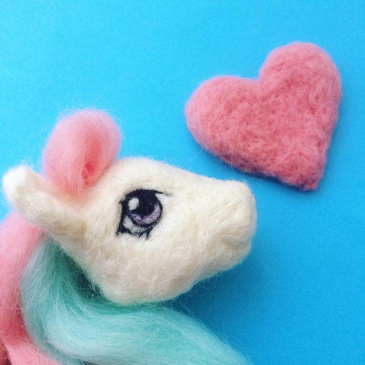 Needle Felt My Little Pony