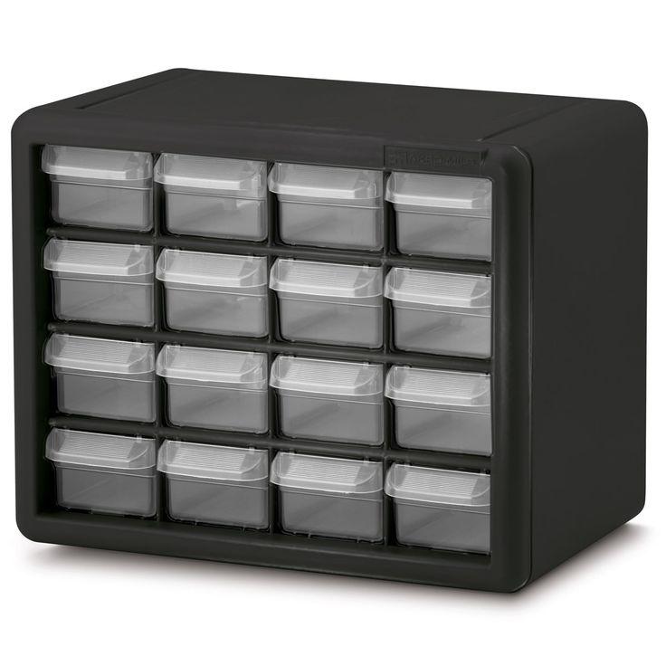 Akro-Mils 16 Drawer Plastic Storage Cabinet