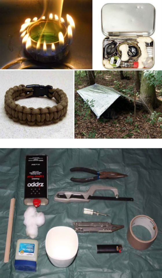 DIY Survival: 15 Clever Kits, Tricks and Hacks | Includes photos and videos of instructions and procedures! WOW!