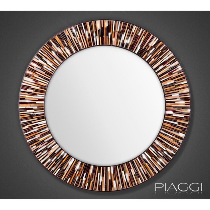 Roulette Light Brown - contemporary mirrors ♥♥ http://piaggi.co.uk/store  #Piaggi #Design
