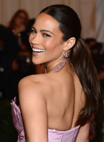 Paula Patton Hair and that SKIN!!! #flawless
