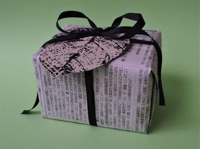 Vaateviidakko: Pakettikortteja ja paketointia kierrätysmateriaaleilla