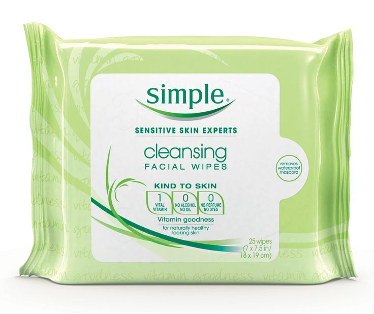 Simple Cleansing Facial Wipes: A complete, one-step face wash | Pin from lbx.la/rnrf for your chance to win $5,000 to spend at #Target #revitalizemorning #sweepstakes No purchase necessary. Open to 50 US & DC, 18+. Ends 1/25/14. For rules, click here