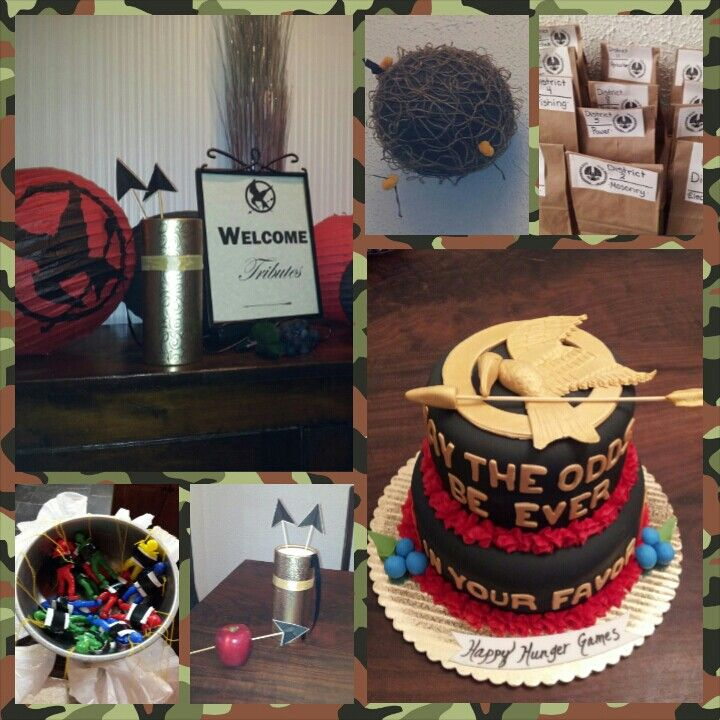 Our Hunger Games party Rocked!!