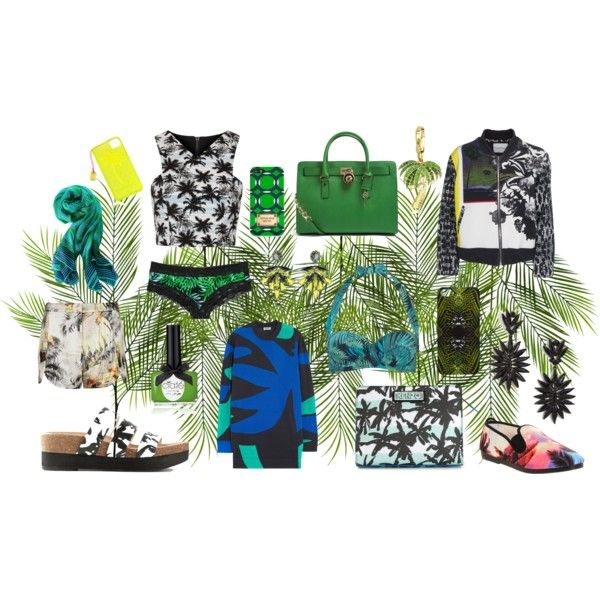 """palm"" by lelouka on Polyvore"