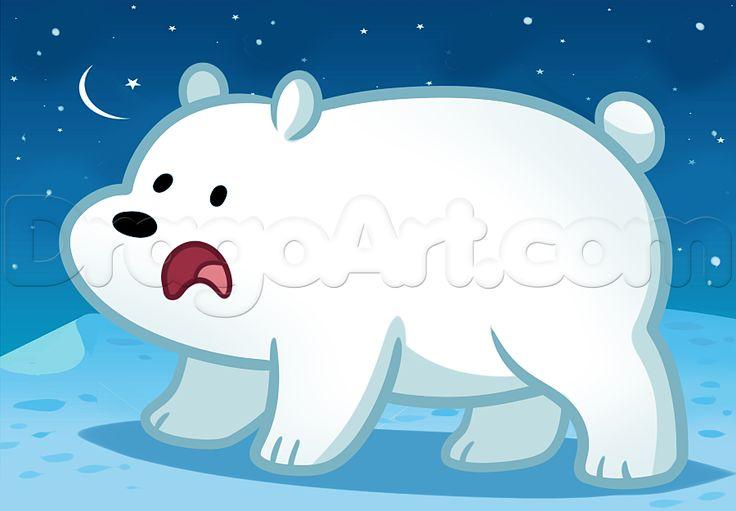 ice bear we bare bears   google search escandalosos