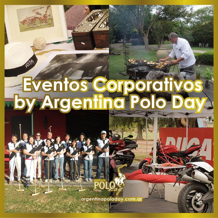 Servicio y excelencia.  Lanzamiento de productos. Reuniones Ejecutivas. Team Building.  #EventosCorporativos #Eventos #PoloEvents #ArgentinaPoloDay
