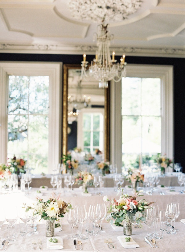 Winter Garden Party Ideas Part - 23: Hudson Valley Wedding At Ham House From Jen Huang