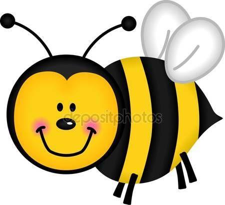 Happy bee — Stockillustration #9734391