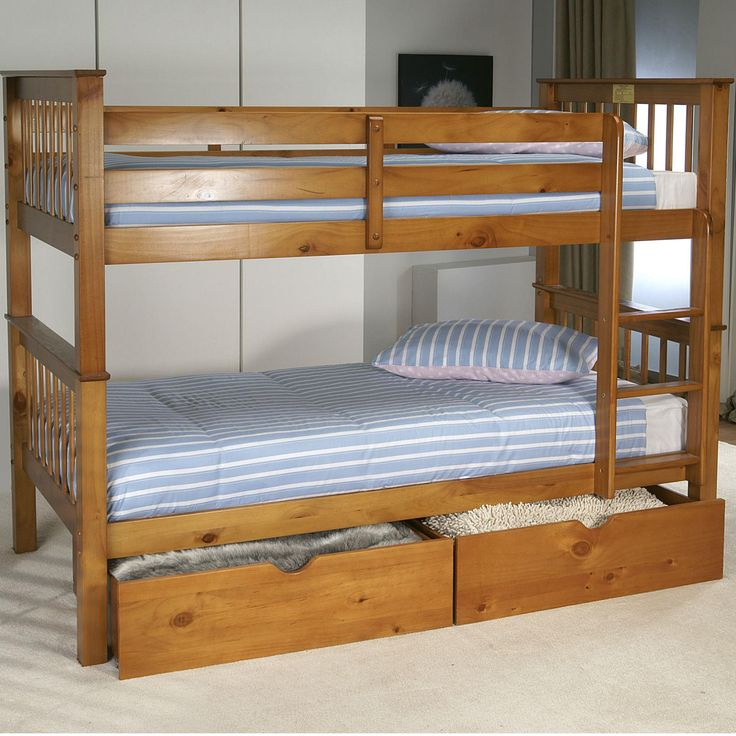 Pavo Bunk in Pine from Queenstreet Carpets & Furnishings