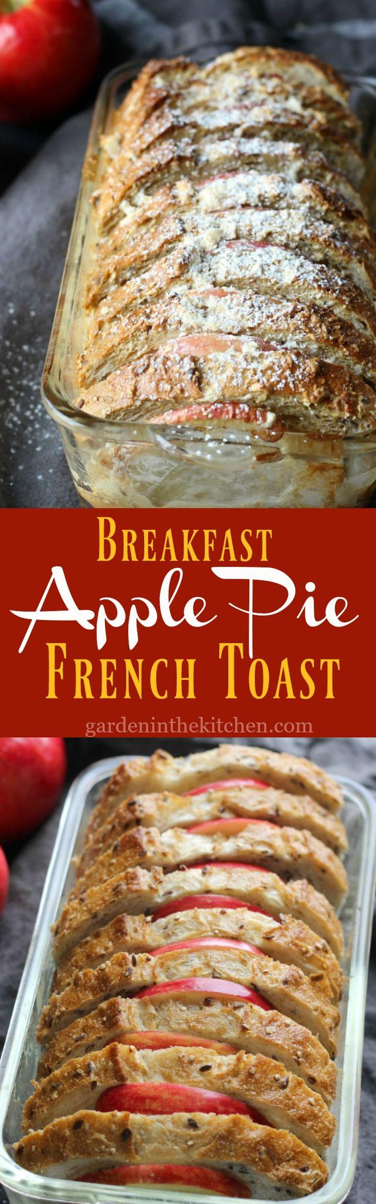 Breakfast Apple Pie French Toast