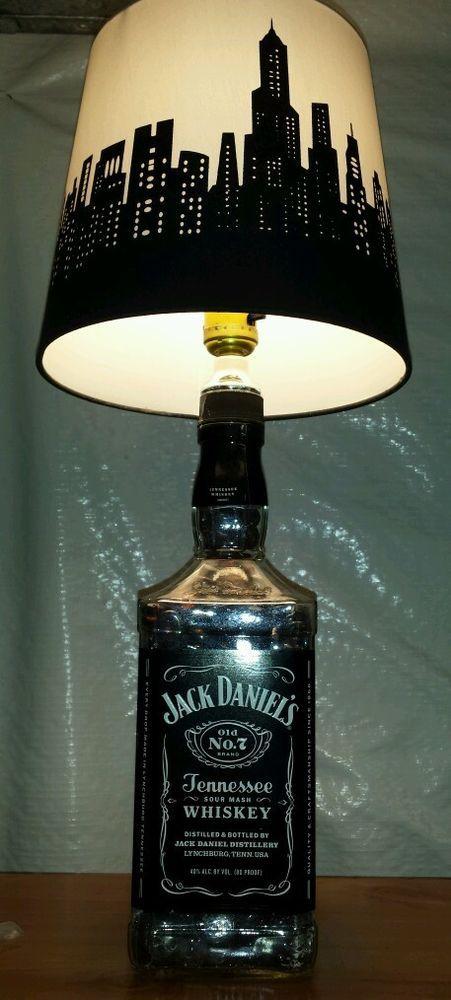 Best 25+ Jack daniels lamp ideas on Pinterest Jack daniels bottle, Whiskey bottle crafts and Bar