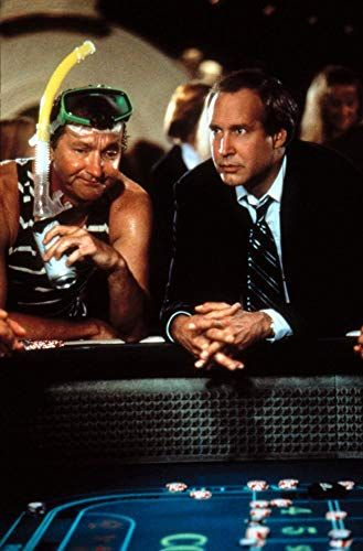 Chevy Chase And Randy Quaid In Vegas Vacation (1997