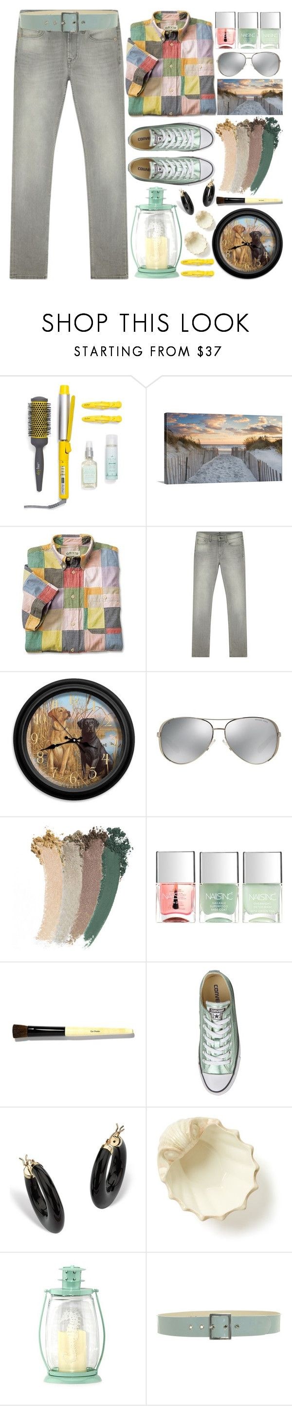 Glamorous bamboo fencing mode miami tropical landscape image ideas -  At The North Sea By Grozdana V Liked On Polyvore Featuring Drybar