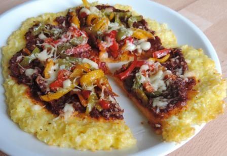 Zelf lekkere pizza maken (zonder gluten) met rijstbodem #pizza #glutenvrij