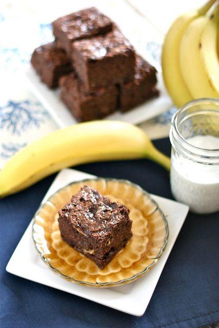 Banana Brownies 002
