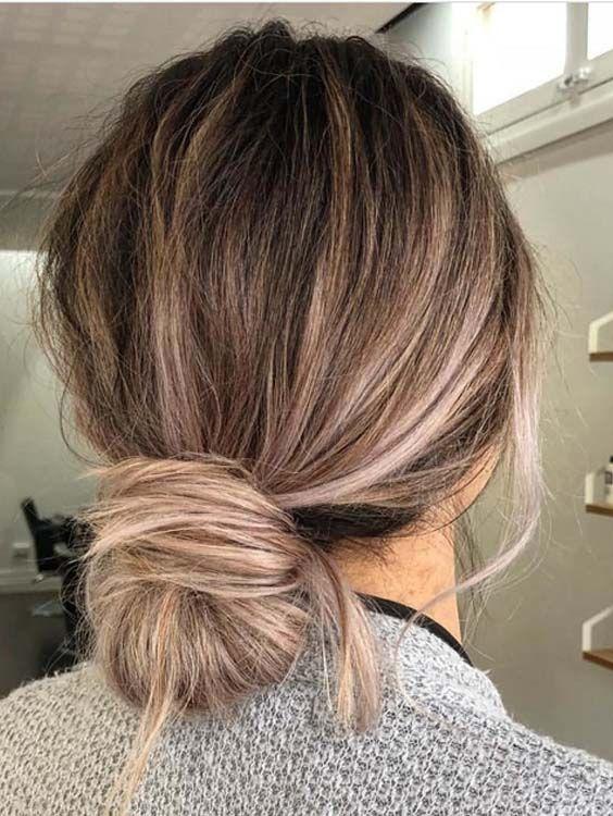 50 Easy Updos To Wear In Summer Season 2018 Hair Hair Hair