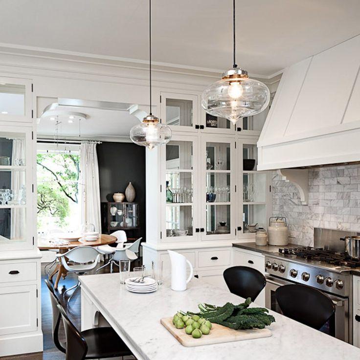 Contemporary Kitchen Drop Lights