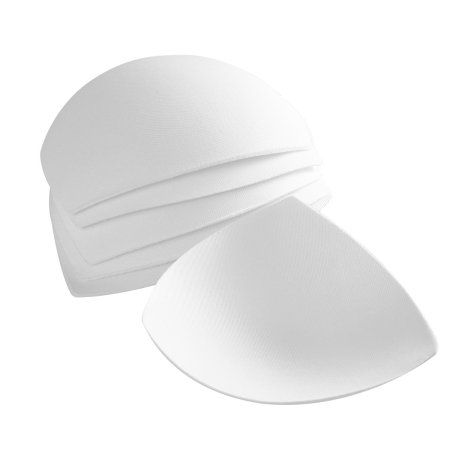 Free Shipping. Buy 3 Pair Womens Removable Smart Cups Bra Inserts Pads For Swimwear Sports (White) at Walmart.com