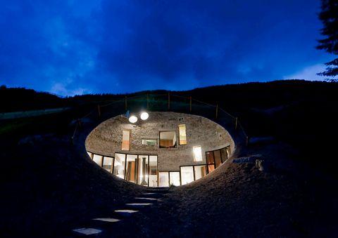 Villa Vals, Suiza.