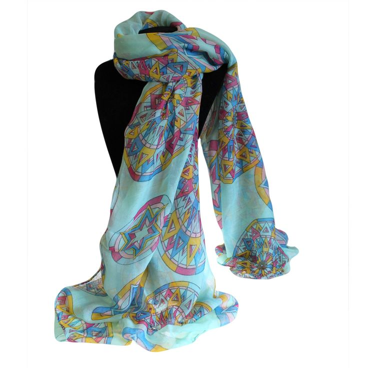 Wholesale Blue Scarves - Hip Angels Hip Angels wholesale Bit Posh Scarves, design compass blue combo sold in pack of six assorted colours. This scarf is perfect to wear  in the summer time. #Amazing_Scarves #Wholesaler_Scarves #Hip_Angels_Scarves #Scarves_Cheap #Cheap_Scarves #Lovely_Scarves #Mums_Scarves #Woman_Scarves