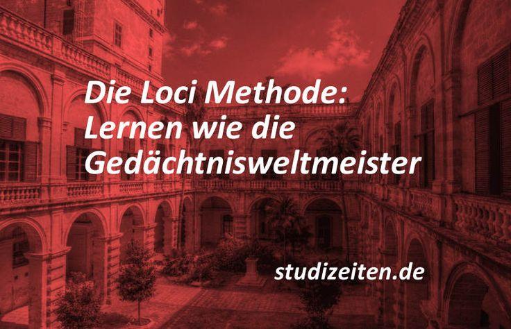 Die Loci Methode ist eine Lerntechnik, mit der du schnell und einfach viel Wissen abspeichern kannst. Diese Fehler darfst du dabei nicht machen! KLICK HIER